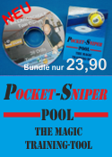 Pocket Sniper - Pool-Billard Trainings-Tool